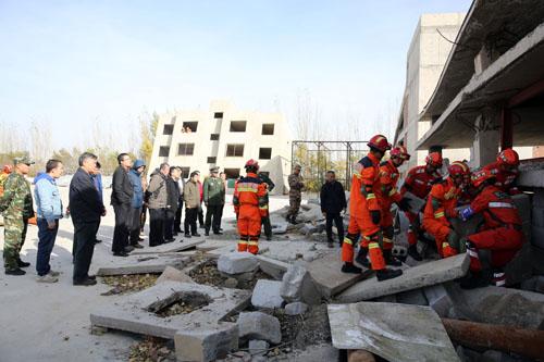西北地震应急救援技术研讨...
