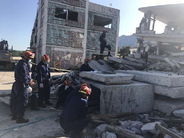 自治区地震灾害紧急救援队...