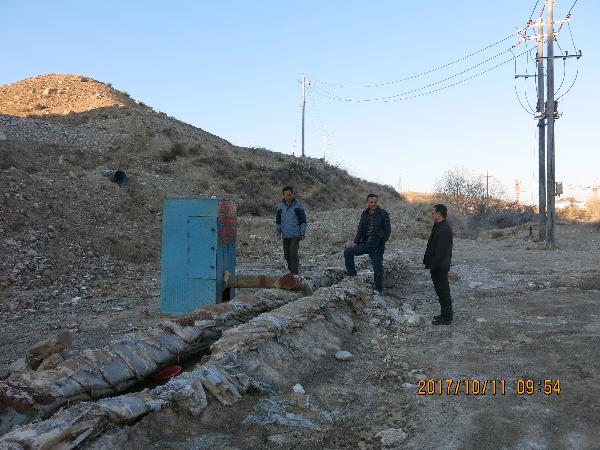 中国地震局专家对温泉新台...