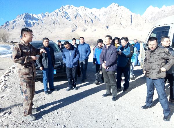 新疆地震局组织开展重点区...