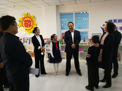 新疆维吾尔自治区副主席吉...