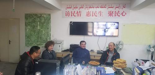张勇局长春节前在喀什地区...