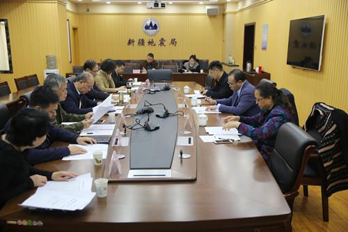 北京市地震局一行在新疆地...